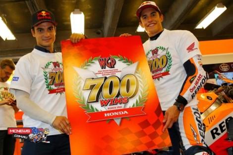 Kemenangan ke-700 Honda MotoGP